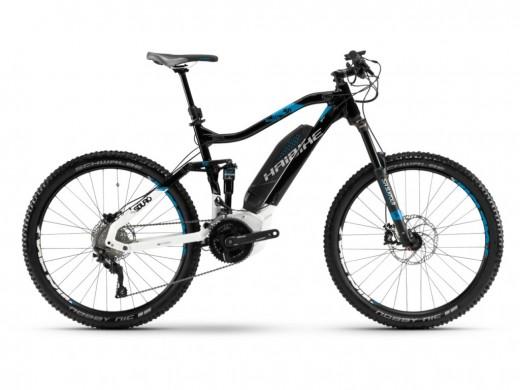 SDURO FullSeven LT 5.0 500Wh 20-G Deore schwarz blau weiß