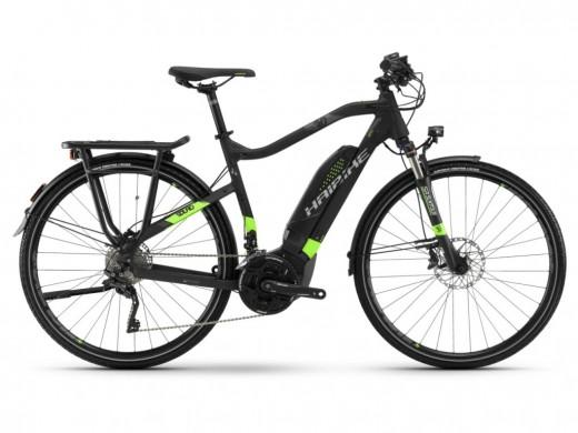 SDURO Trekking 6.0 Herren 500Wh 20-G XT schwarz grün